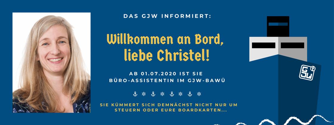 Willkommen an Bord liebe Christel quer 1 01
